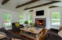 Massachusetts Farm House - Farmhouse - Living Room - new ...