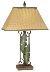 Banana Leaf Table Lamp