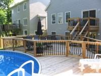 500 sq ft backyard pool - Traditional - Porch - ottawa ...