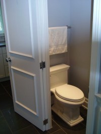 Tiny small bathroom - Traditional - Powder Room - toronto ...