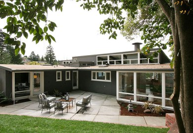 Mid Century Modern Exterior House Colors