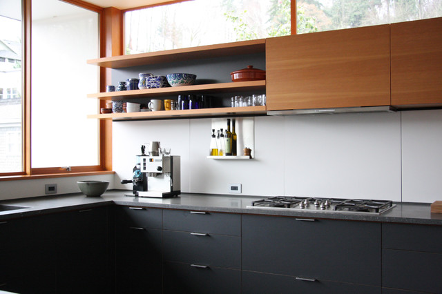 houzz modern living room lighting leather set clearance main street kitchen - seattle by ...
