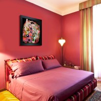 Oil Paintings for Bedrooms - Contemporary - Bedroom ...