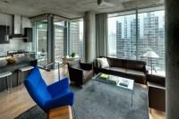 High Rise Apartment - Contemporary - Living Room - chicago ...