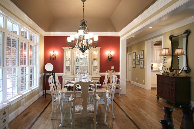 French Country Traditional Dining Room Charlotte