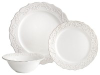 Antique Scroll Dinnerware - Traditional - Dinnerware - by ...