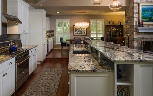 certified kitchen designer islands azurite granite | countertops, slabs