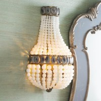 Beaded Sensation Sconce - by Shades of Light