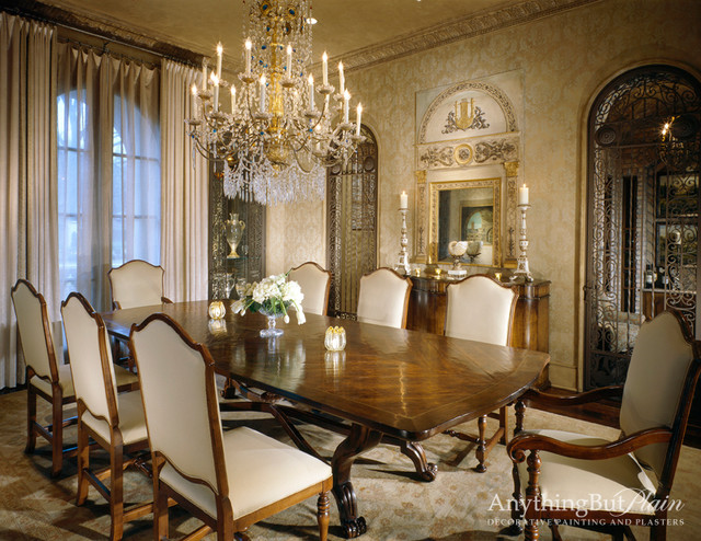 Elegant Dining Room  Traditional  Dining Room  houston