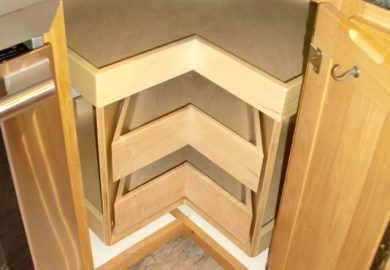 Kitchen Cabinet Organizers For Corner Cabinets
