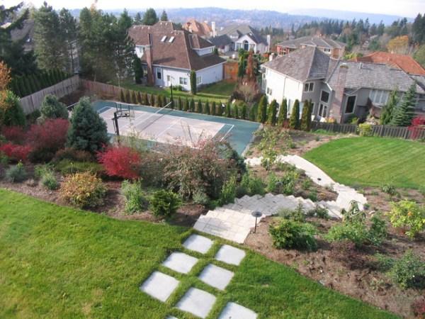 custom landscaping pools