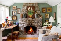 10 Fireplace Ideas - Town & Country Living