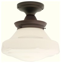 Creighton Semi-Flushmount Light Fixture - Traditional ...