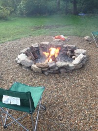 Natural Stone Fire Pit - Fire Pits - boston
