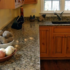 Granite Top Kitchen Table Cabinets Crown Molding Yellow Butterfly - Traditional Dc ...