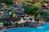 Backyard Hill Landscape Design Ideas, Carlsbad, CA ...