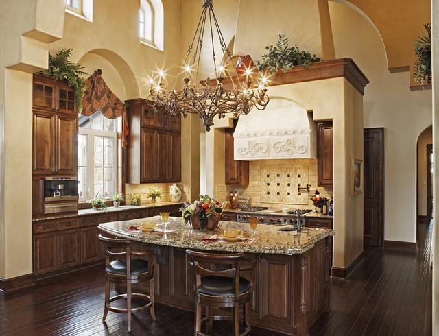 Great Kitchens  Mediterranean  Kitchen  austin  by Jenkins Custom Homes