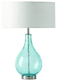 Lucy Aqua Table Lamp - Contemporary - Table Lamps - by ...