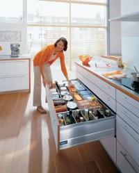 Blum kitchen accessories-storage drawer - Contemporary ...