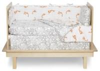 Argington Fish and Pebbles Print Organic Crib Bedding ...