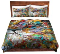 Duvet Cover Twill - Abstract Lion - Contemporary - Duvet ...