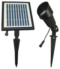Solar Flag Pole and Spot Light