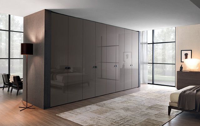 GROOVE  Hinged wardrobe  Contemporary  Bedroom  south