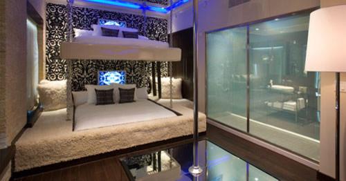 Kinky Bedroom With Stripper S Pole