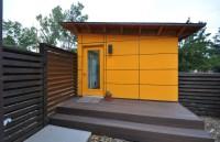 Client Studio Shed with Bathroom 14x26 - Modern - Garage ...