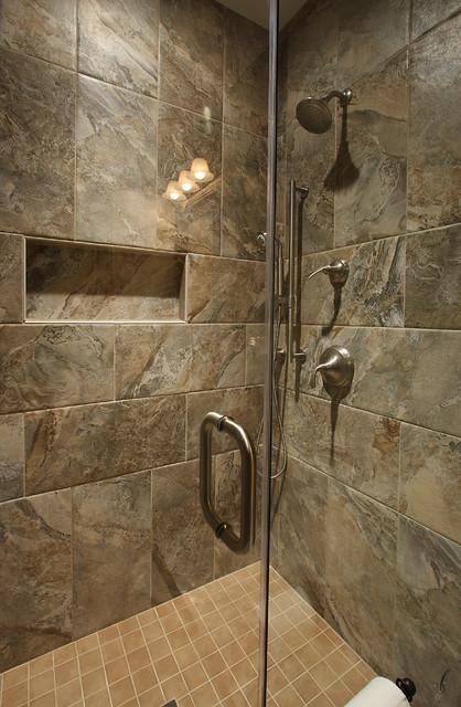 Basement Shower Traditional Basement Dc Metro By