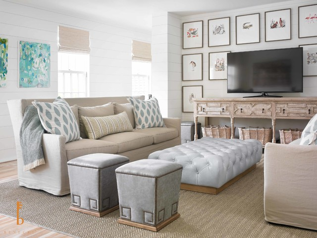 beachy living room wall colors furniture coffee tables small house interior design coastal showhouse beach style family