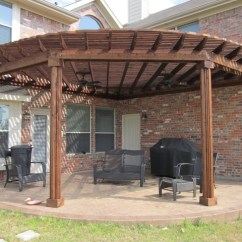 Fan Back Wicker Chair Herman Miller Setu Review Shape Patio Cover - Dallas By Texas Best Fence
