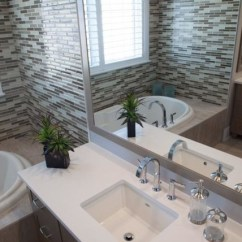 Lighting Over Kitchen Table Colors Of Cabinets Model Homes Bathrooms - Contemporary Bathroom Other ...