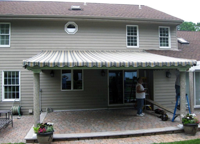 Canvas Patio Cover  Traditional  Patio  new york  by