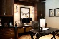 Contemporary Masculine Home - Contemporary - Home Office ...