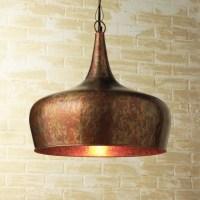 Copper Onion Dome Pendant - Contemporary - Pendant ...