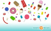 Candy Wall Decals