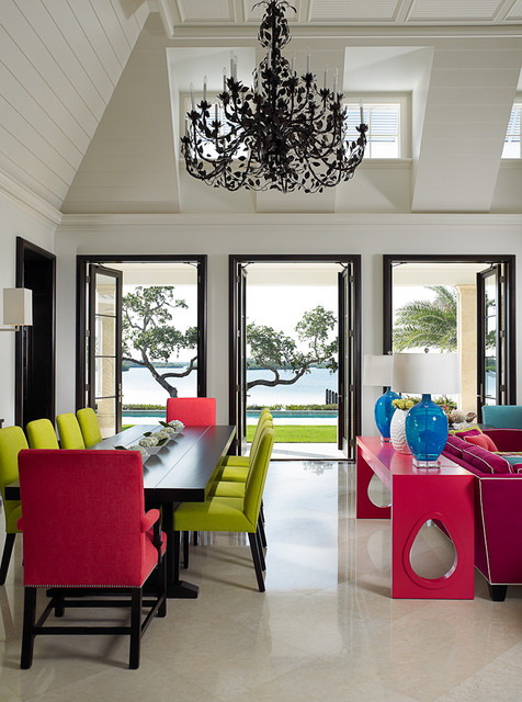 Florida Beachfront Residence - Vero Beach, USA contemporary dining room