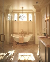 English Country Waterfront - Traditional - Bathroom ...