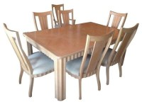 Pre-owned Thomasville Stone Terrace Dining Table and ...
