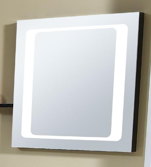 Mirror with Integrated Lighting  Zen  Modern  Bathroom