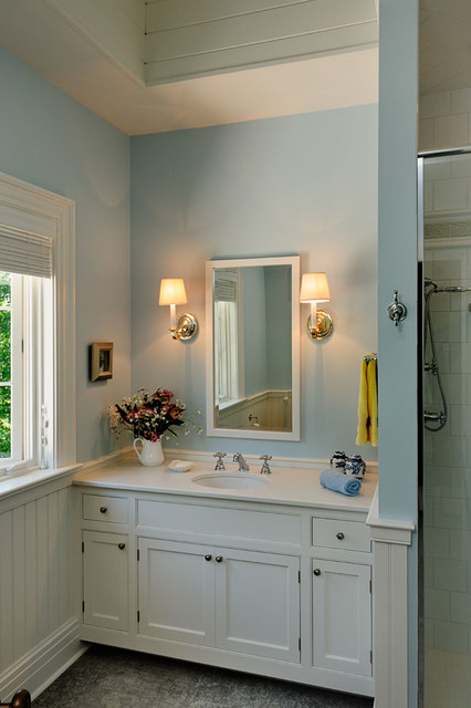 latest colors for living rooms light color combinations room connecticut pool house - traditional bathroom new york ...