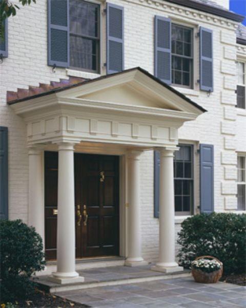 Front Door Pillars