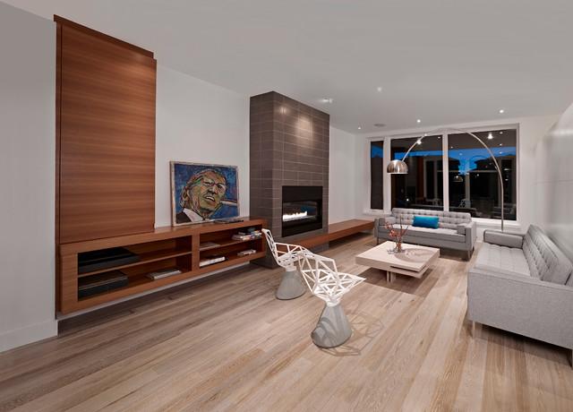 Living Room  Contemporary  Living Room  edmonton  by