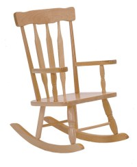 Steffywood Kids Toddler Colonial Wooden Rocking Child's ...