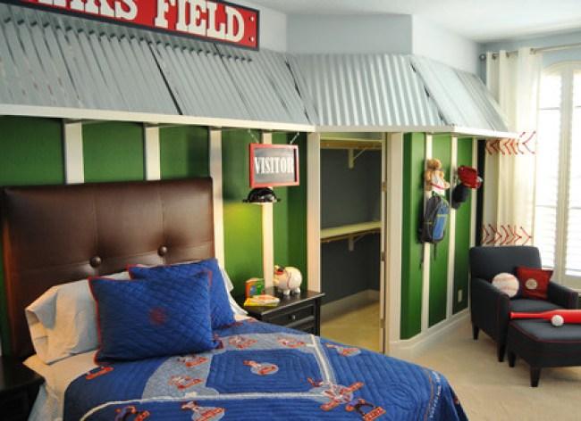 Boys Baseball Theme Rooms