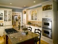Elegant White Country Kitchen - Traditional - Kitchen ...