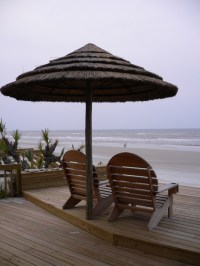 Thatch Umbrella - Natural - Tropical - Outdoor Umbrellas ...