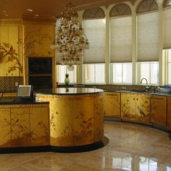 Newport Brass Kitchen Faucet Remodeling Naples Fl Glam It Up: Gold Kitchens - Abode