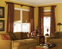Blinds.com Classic Roman Shades - Traditional - Living ...